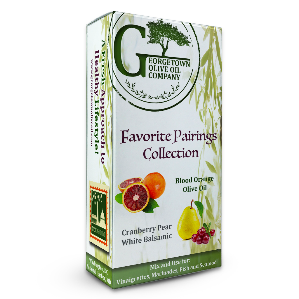 Blood Orange & Cranberry Pear Pairing - Georgetown Olive Oil Co.