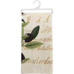 Dish Towel - Olives - Georgetown Olive Oil Co.