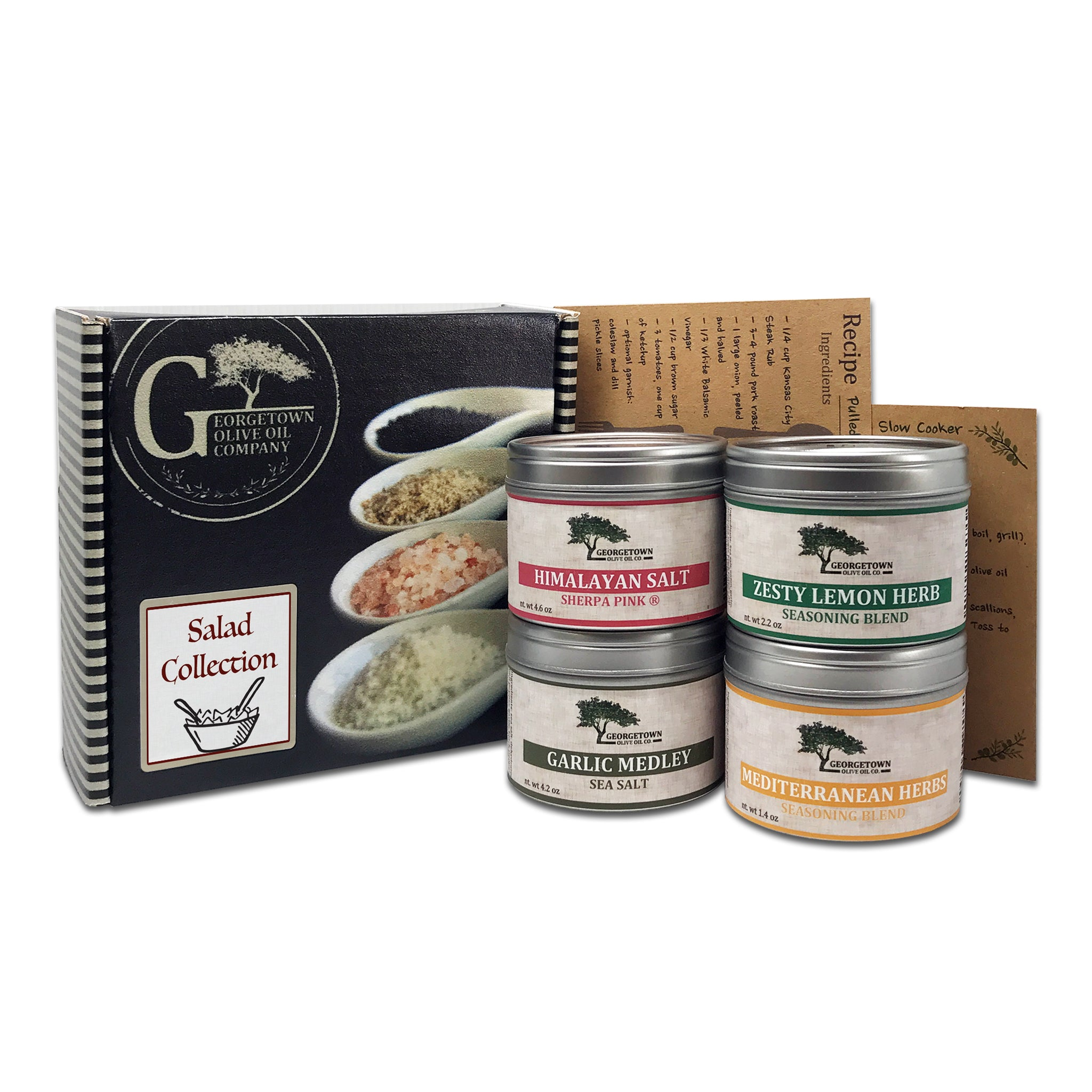 Salad Collection - Salts and Seasonings - Georgetown Olive Oil Co.