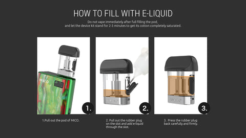 HOW TO FILL SMOK MICO ALL IN ONE (AIO) STARTER KIT