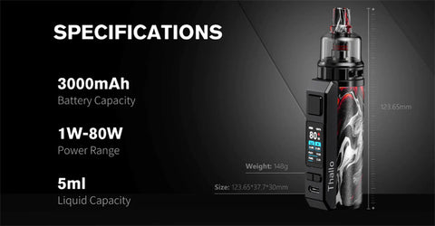 Smok Thallo S Kit Specs