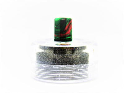 Lost Vape Orion Resin Drip Tips by Blitz Vape Accesories Blitz Frosted Green / Colorful Resin