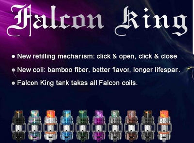 HorizonTech Falcon King Sub Ohm Tank swagg sauce collection