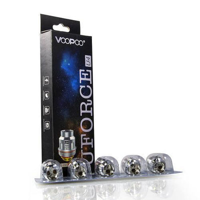 VOOPOO UFORCE REPLACEMENT COILS - 5 PACK Coils VooPoo U4 Quadruple Core 0.23O