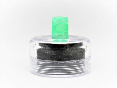 Lost Vape Orion Resin Drip Tips by Blitz Vape Accesories Blitz Translucent Green/ White Stripes