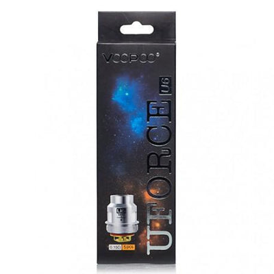 VOOPOO UFORCE REPLACEMENT COILS - 5 PACK Coils VooPoo U6 Sextuple Coils 0.15O
