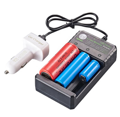 BmaX i3 Intellicharger Li-ion Smart Charger 2 Slot 18650 Battery