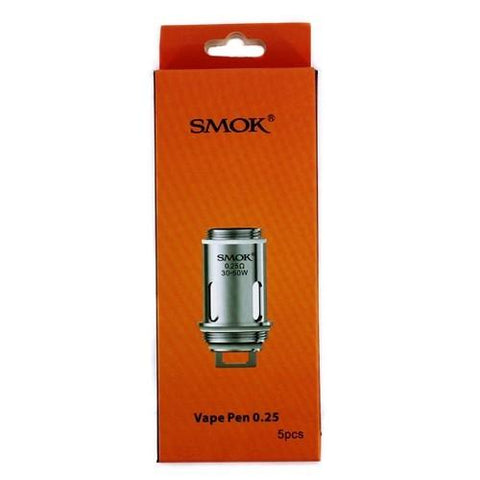 Smok VAPE PEN 0.25 ohm Dual Coils for VAPE PEN Tank- 5 pack