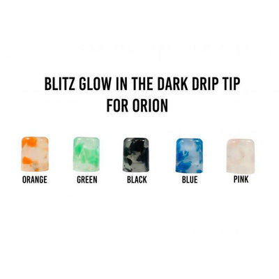 Lost Vape Orion Luminous Drip Tips by Blitz Vape Accesories Blitz