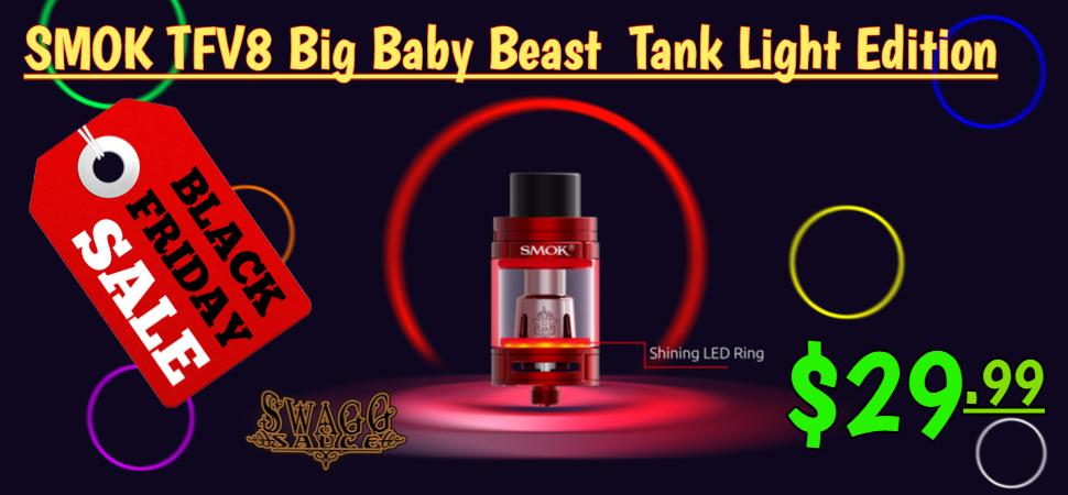 SMOK TFV8 Big Baby Beast Sub-Ohm Tank Light Edition
