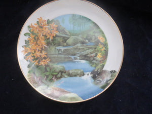 Collector Plate - Wild Honeysuckle Collector Plate- Carolina China Collectibles