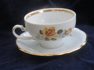Cup and Saucer ( Leuchtenburg) by C A Lehmann and Sons Cup & Saucer- Carolina China Collectibles