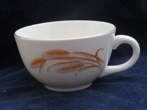Golden Wheat Tea Cup by Homer Laughlin Cup- Carolina China Collectibles