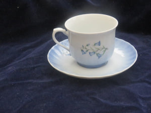 Bluebells Cup & Saucer  by Christineholm Cup & Saucer- Carolina China Collectibles