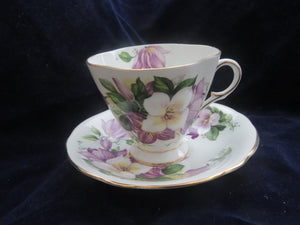 Footed Cup & Saucer by Windsor Cup & Saucer- Carolina China Collectibles