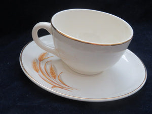 Golden Wheat Cup & Saucer Cup & Saucer- Carolina China Collectibles