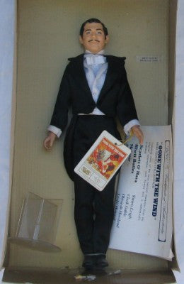 Rhett Butler Doll - Gone With The Wind Portrait Doll- Carolina China Collectibles