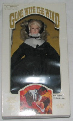 Aunt Pittypat _ Gone With The Wind Portrait Doll- Carolina China Collectibles