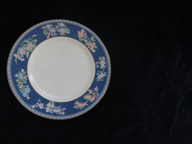 Blue Siam Bread Plate by Wedgwood Bread Plate- Carolina China Collectibles