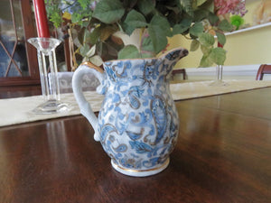 Blue Paisley Creamer by Lefton Creamer- Carolina China Collectibles