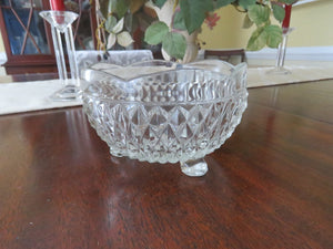 Avitra Hand Cut Lead Crystal Candy Dish Made In Poland Candy Dish- Carolina China Collectibles