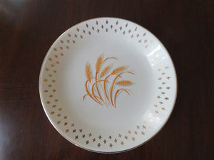 Homer Laughlin Golden Wheat Fleur De Lis Soup Bowl
