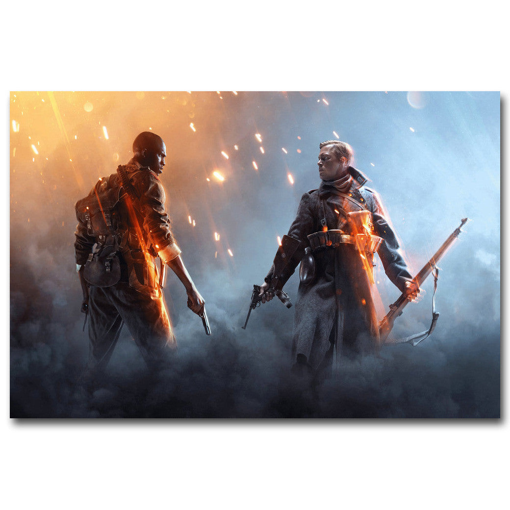 Battlefield 1 - Combatants Silk Poster Art