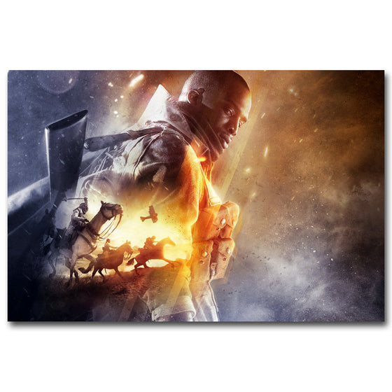 Battlefield 1 - Double Exposure Silk Poster Art