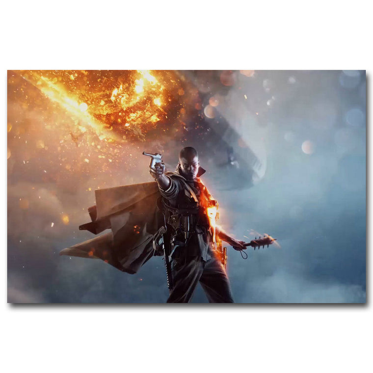 Battlefield 1 - Game Art Silk Poster Art
