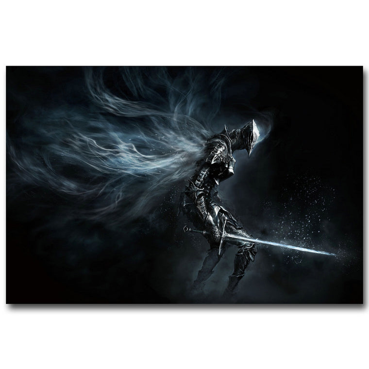 Dark Souls Silk Poster Art