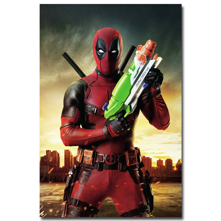 Deadpool - Super Soaker Silk Poster Art