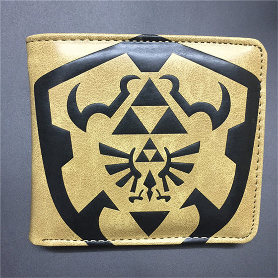 Default Title The Legend of Zelda Triforce Wallet Wallet