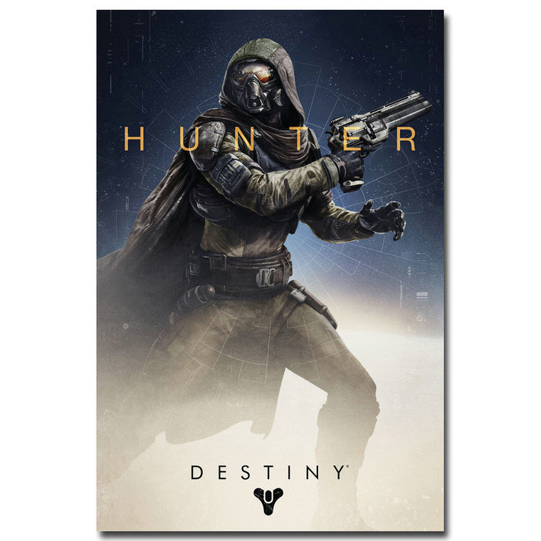 Destiny - Hunter Guardian Silk Poster Art