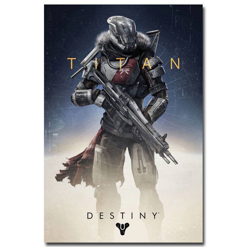 Destiny - Titan Guardian Silk Poster Art