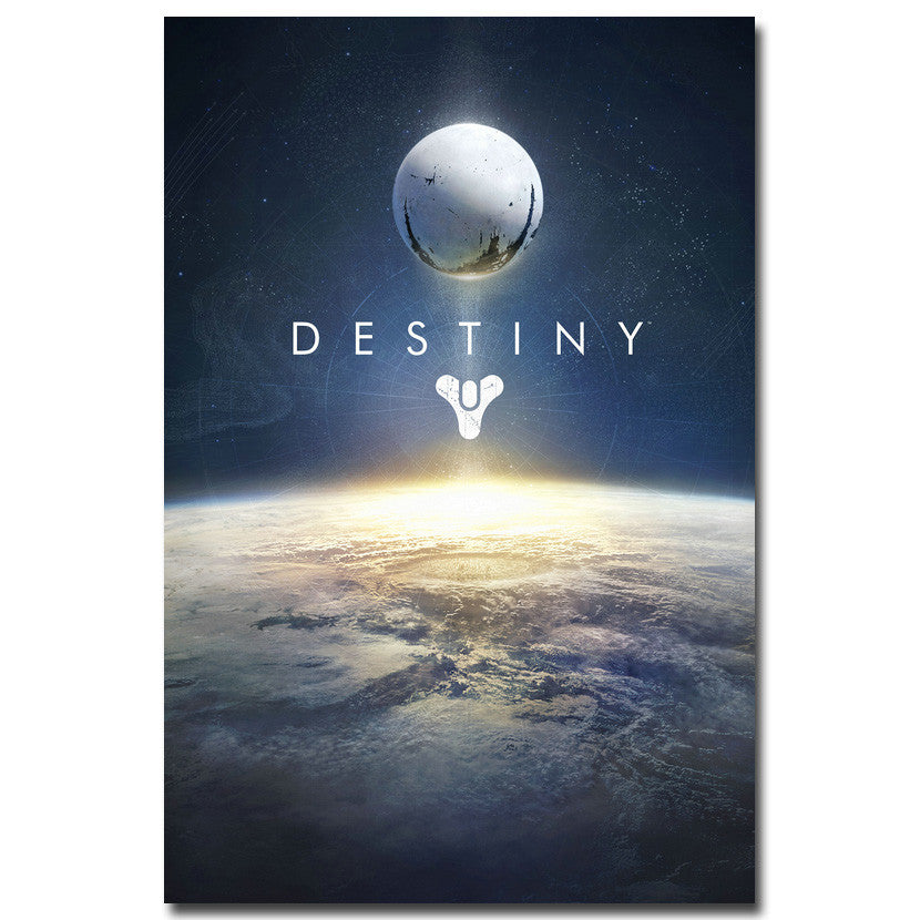 Destiny - Vertical Logo Silk Poster Art