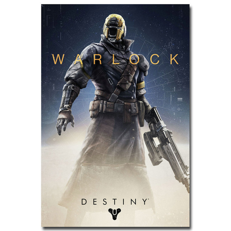 Destiny - Warlock Guardian Silk Poster Art