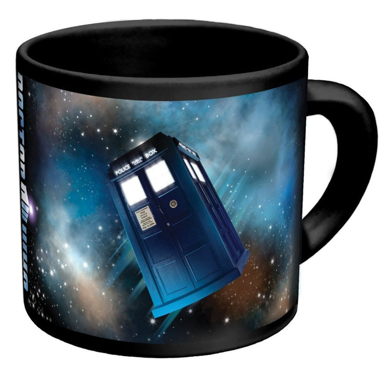Doctor Who - Transporting Tardis Silk Poster Mug