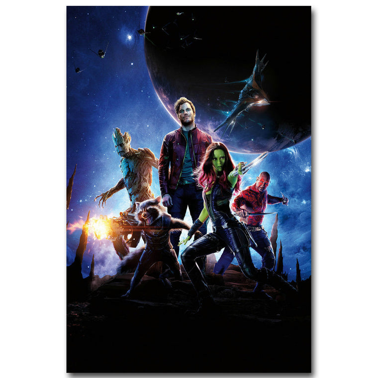 Guardians of The Galaxy - Heroes Silk Poster Art