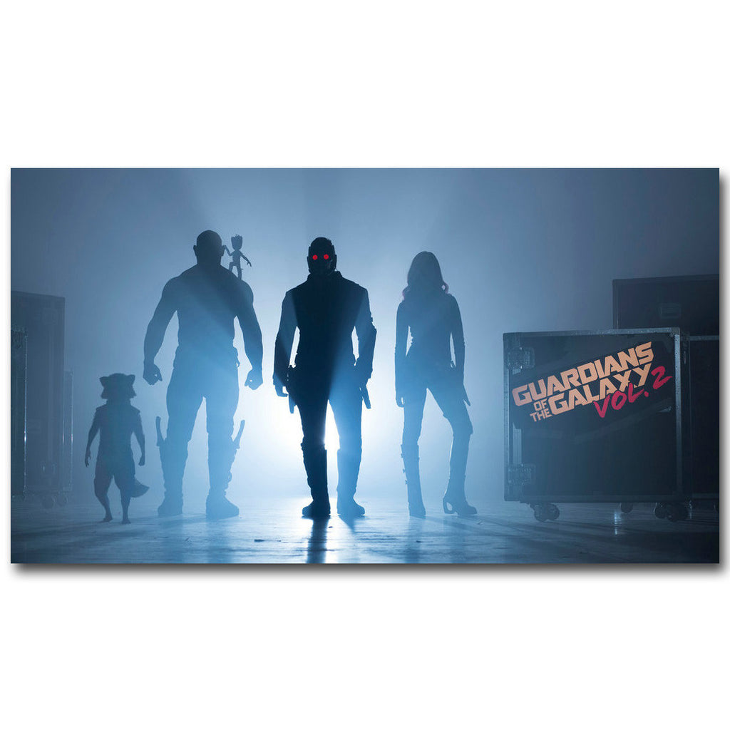 Guardians of The Galaxy Vol 2 Silk Poster Art