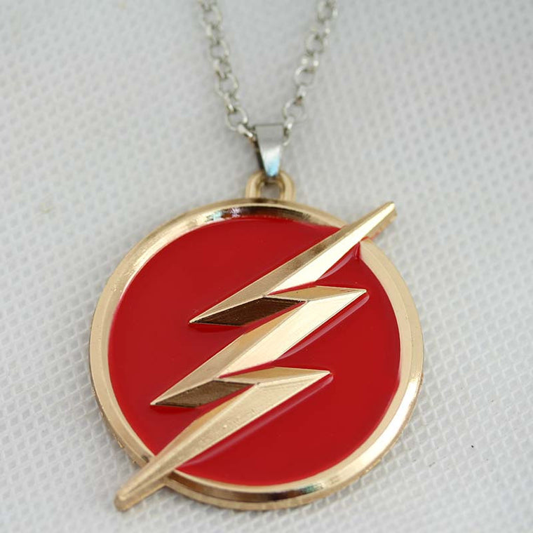 Red The Flash Necklace Jewelry
