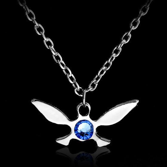 Silver Legend of Zelda Navi Pendant Jewelry