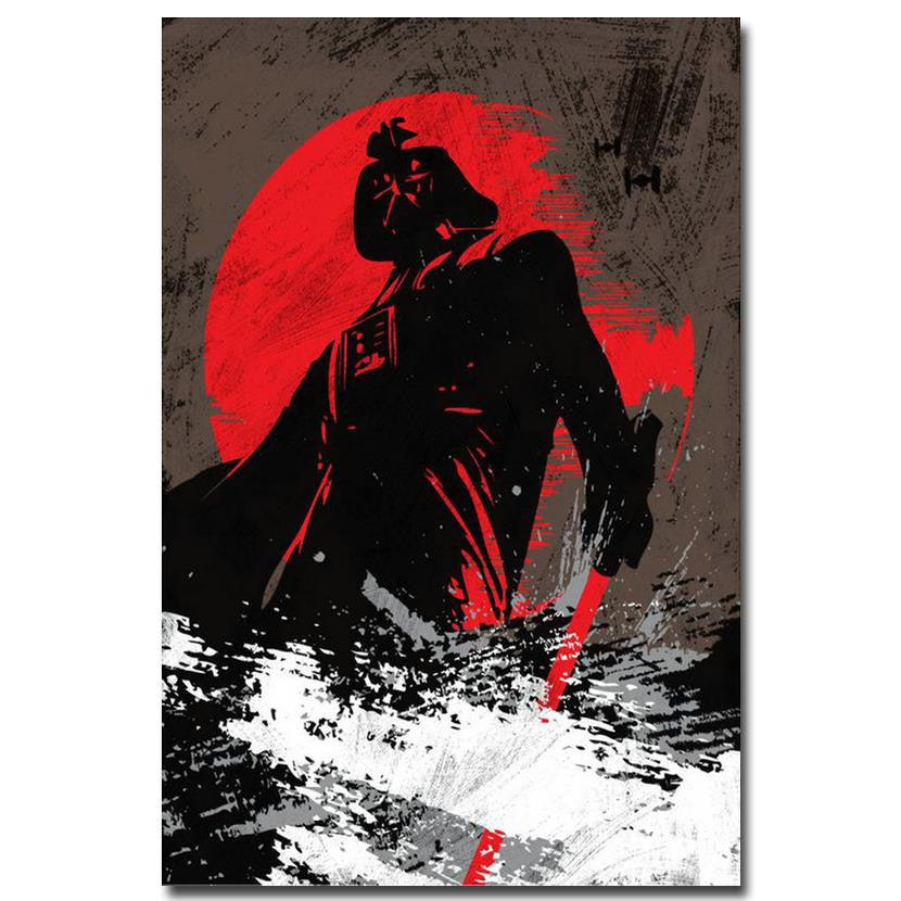 Star Wars - Darth Vader Silk Poster Art