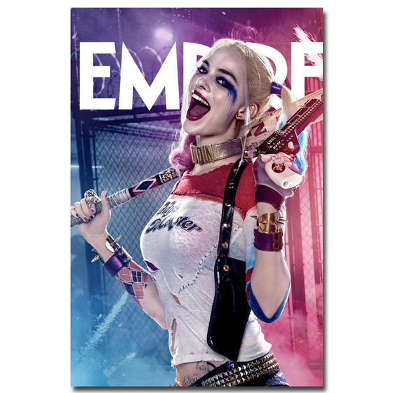 Suicide Squad - Daddy's Lil' Monster Harley Quinn Silk Poster Art