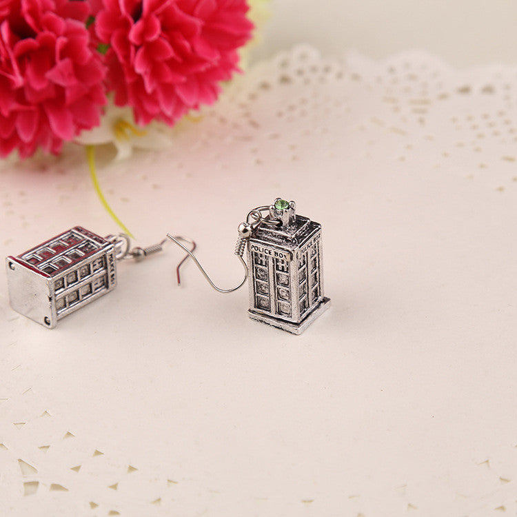 Tardis Earrings Jewelry