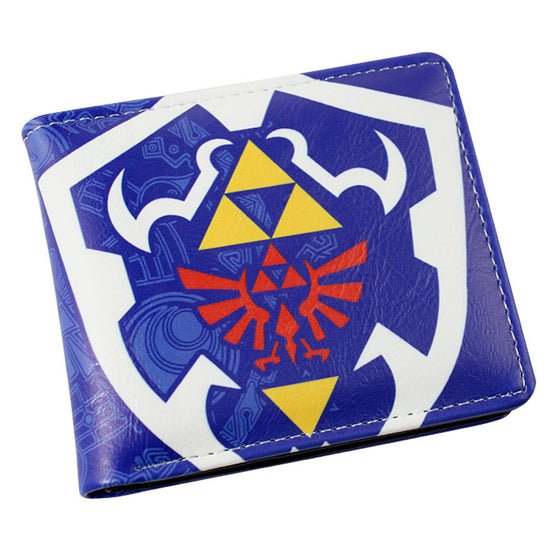 The Legend of Zelda - Colored Triforce Wallet Wallet