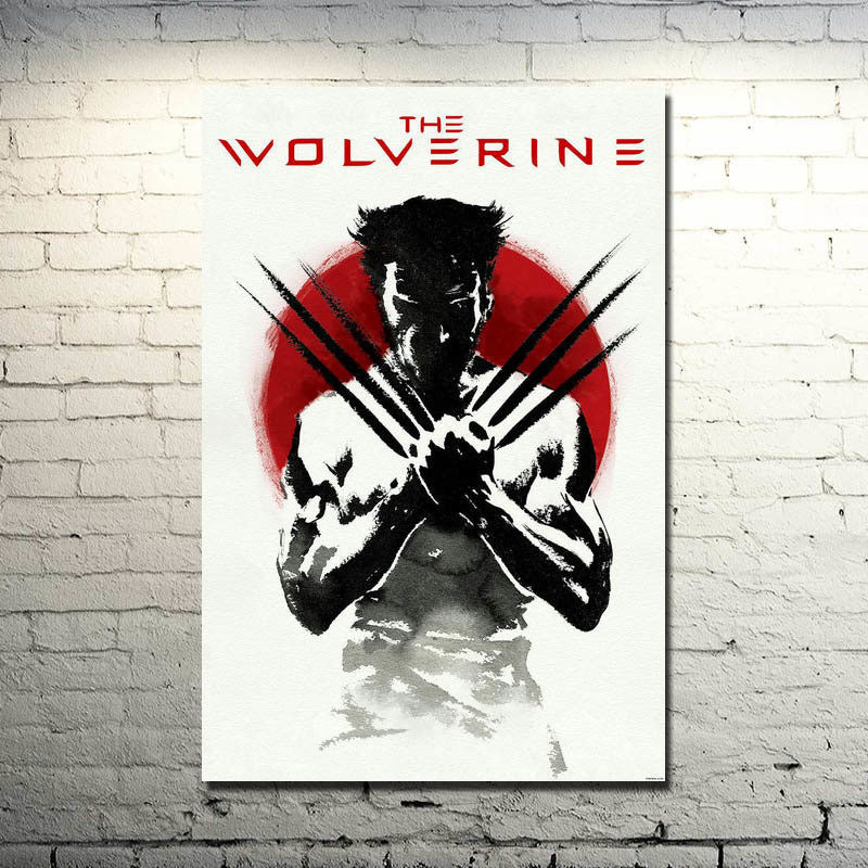 The Wolverine Silk Poster Art