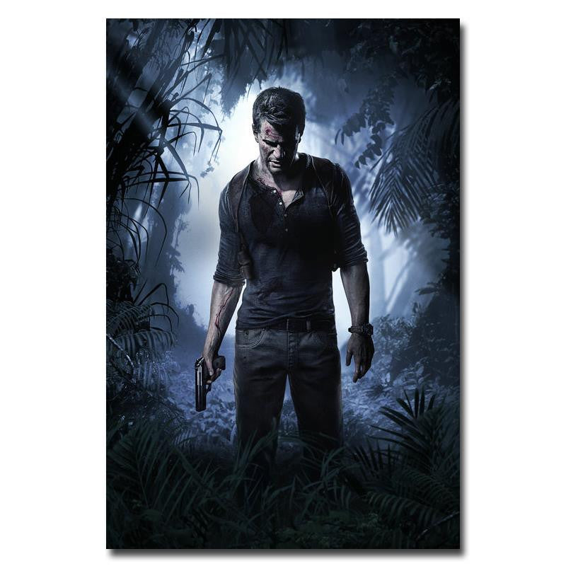 Uncharted 4 A Thief's End Nathan Drake Poster Art