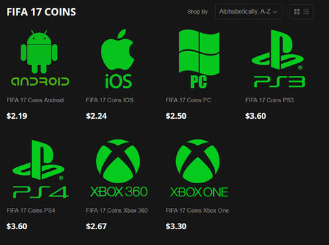 fifa 17 coins xbox one