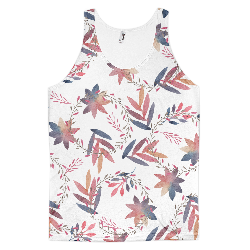 Multi-Colored Leaves Tank