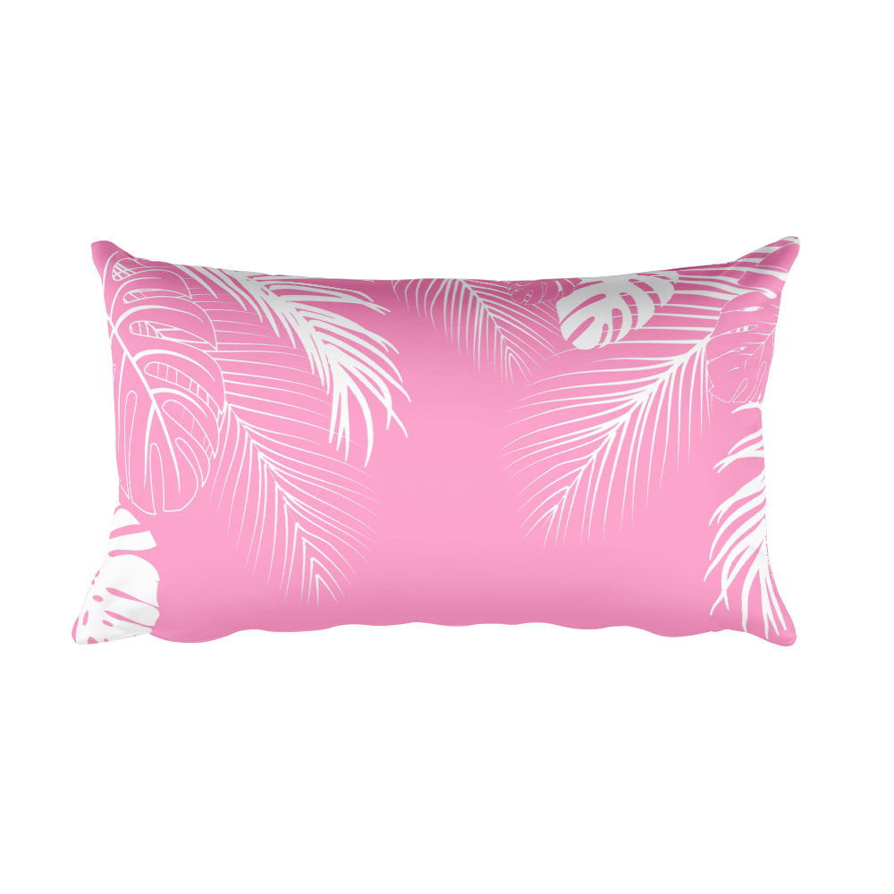 Tropical Pink Accent Pillow